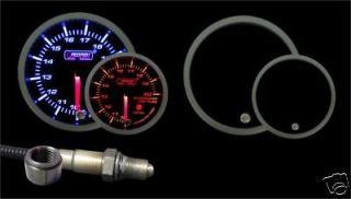 Wideband Air Fuel Ratio Gauge w/Bosch O2 sensor 60mm