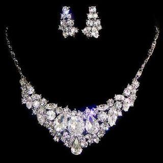rhinestone bridal jewelry in Clothing,
