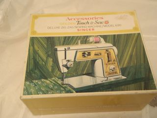 Singer Accessories Golden Touch Deluxe Zig Zag Sewing Machine Mod 630