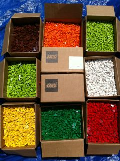 NEW ** 350 pieces, new 1x2 LEGO bricks, choose two colors bulk lot