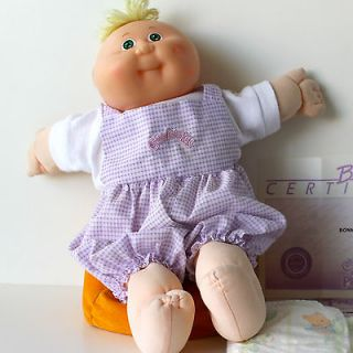 Cabbage Patch Kids PREEMIES Cute Baby Doll BONNIE Coleco Vtg 1987