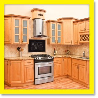 All Solid Wood KITCHEN CABINETS 10x10 RTA Richmond