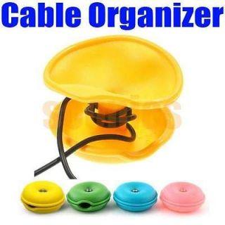 New Turtle Cable Cord Wire Organizer Bobbin Winder Wrap For iPod