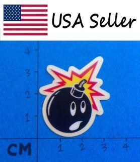 Bomb SMALL Vinyl Sticker (055) Skateboard Car Window Bumper Decal