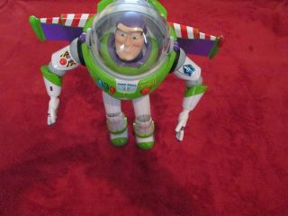 12 TOY STORY 3 BUZZ LIGHTYEAR TALKING ACTION FIGURE BY THINKWAY TOYS
