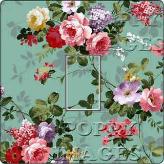 SHABBY CHIC LIGHT SWITCH COVER LAURA CATH STYLE RETRO VINTAGE