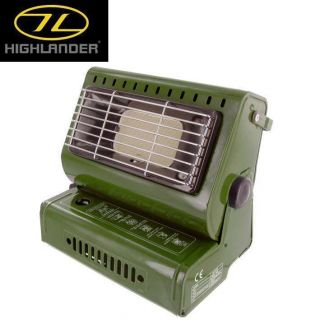 Highlander Butane Gas Tent / Fishing Bivvy Heater + Gas   with Piezo