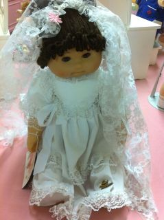 Vintage Cabbage Patch Kids Doll Lissi Fashion Hispanic Bride w Wedding