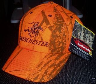 Winchester Embroidered Hat on Realtree Hardwoods Camo