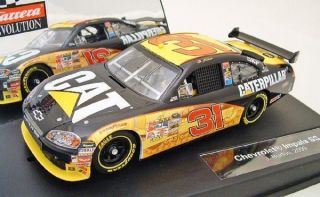 27309 NASCAR 132 Evolution Chevy Impala SS Burton Analog Slot Car 1/32