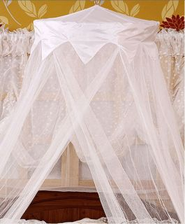 Mosquito Net Bed Canopy Princess bedding White Single Double Queen Bed