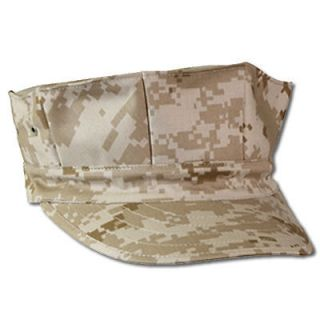 Corps Duty Cap Desert Digital Camouflage 8 Point Hat   FREE SHIPPING