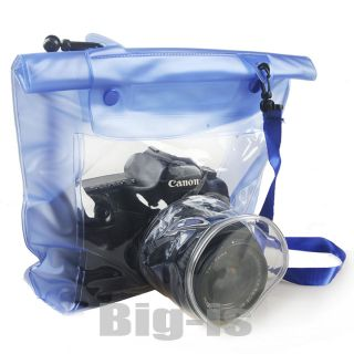 Canon Waterproof Underwater Housing Case Dry Bag for 7D 650D 1DX 5D