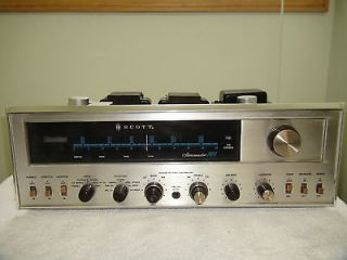 Vintage Scott 340B Fm Stereo Tube Receiver for Parts or Repair