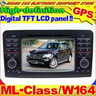 MERCEDES BENZ ML Class/W164 ML63 Car DVD Player GPS Navigation Dash