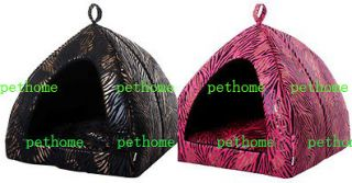 Soft Warm Indoor Pet/Dog/Cat House/Tent Collapsible L/XL for Small