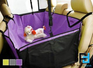 New Hammock Luxury Waterproof Pet Car Seat Cover (Back Double seater)