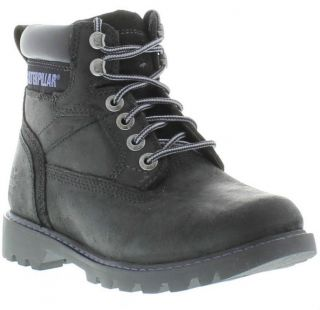Caterpillar Boots Genuine Willow Black Womens Boots Shoes Sizes UK 4