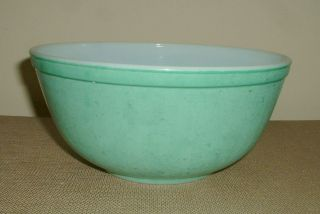 Vintage Retro Green Pyrex Mixing Bowl 2 1/2 Qt Ovenware Marked 403 28
