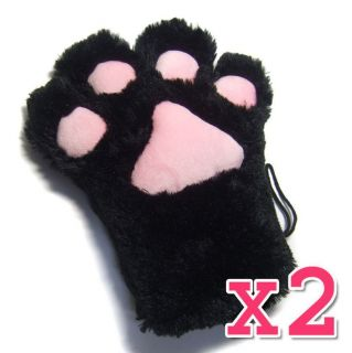 Mittens Cat Paws Cosplay Anime Kawaii Halloween Costume Rave Clothing
