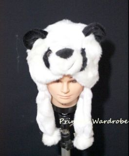 For Halloween Funny Big Panda Cat Hat Party Costume ONE Free Size Gift