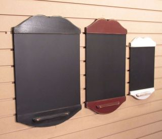 Large Handmade Primitive Style Chalk Board   Your Choice of Colors