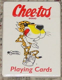 CHEE TOS BRAND PLAYING CARDS CHESTER CHEETAH HOYLE NO 6940 NEW FACTORY