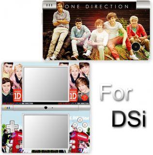 One Direction Popular SKIN DECAL VINYL STICKER COVER for Nintendo DSi