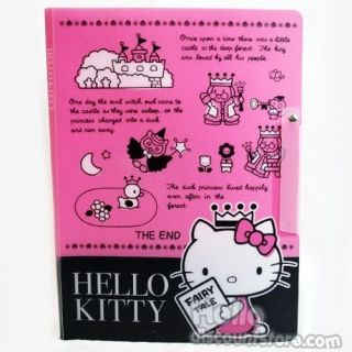 Sanrio Hello Kitty Clear Binder School Supply  Once upon a time