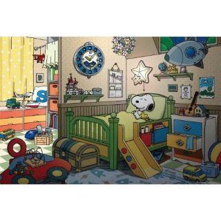 Apollo sha Jigsaw Puzzle 10 834 Peanuts Snoopy Good Night (1000 Pieces
