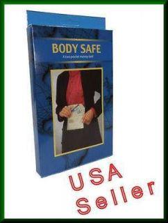 Hidden Money Belt Travel Security Belt Pouch Ships From USA Body Safe