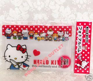 HELLO KITTY Photo Album / Card Holder Sanrio D10g