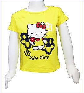HELLO KITTY T SHIRT * SIZES 1   6 YEARS * OFFICIAL MERCHANDISE * GIRLS