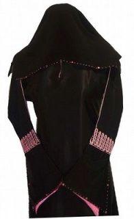 NEW Dubai Abaya bust 44 with matching shawl scarf hijab muslim dress