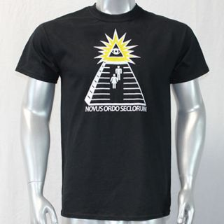 Bill USA One Buck at a time all seeing eye Hip Hop Pop Rock t shirt