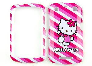 Hello Kitty Pink Hard Cover Cellphone Case For Blackberry Curve 9350