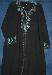Abaya Dubai Hijab Sheela Black Ethenic Abayas Kurti Tunic Dupatta