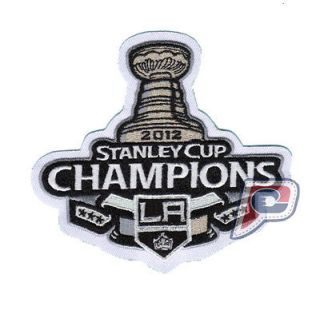 2012 NHL STANLEY CUP FINAL CHAMPIONS L.A LOS ANGELS KINGS JERSEY PATCH