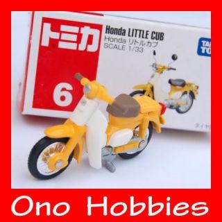 Tomica 6   Honda Little Cub   motor bike   TAKARA TOMY   Brand New