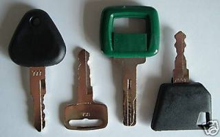 heavy equipment key set in Parts & Parts Machines