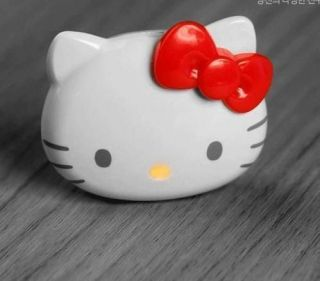 2GB Hello Kitty Cat Face Mini  Player + earphone + usb RED Free
