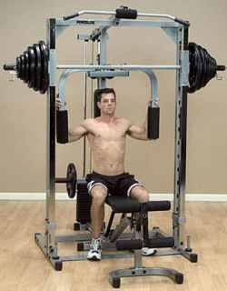Body Solid PowerLine Smith Machine Gym PSM144XS
