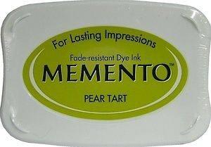 Tsukineko Memento Ink Pad PEAR TART Green