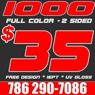 Color Business Cards Printing & Design UV FAST DESIGNƒƒƒ