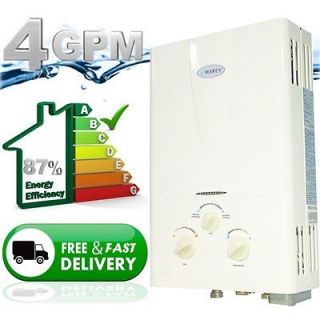 Gas Tankless Hot Water Heater  Instant On Demand Whole House   4.3 GPM