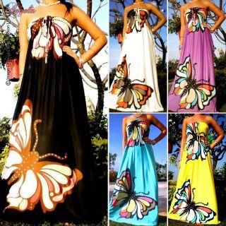 Strapless Evening/Summer Women Long Maxi dress Size Sz M   XXL CA
