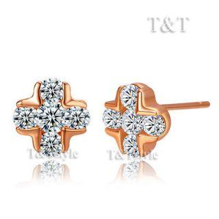 rose gold earrings in Fashion Jewelry