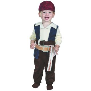 Pirates of the Caribbean Toddler Baby Infant Boys Halloween Costume