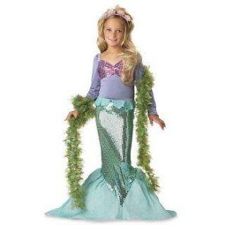 little mermaid costume in Girls