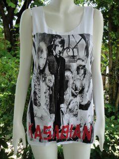 Kasabian Asylum UK Indie Rock Tank Top T Shirt S/M